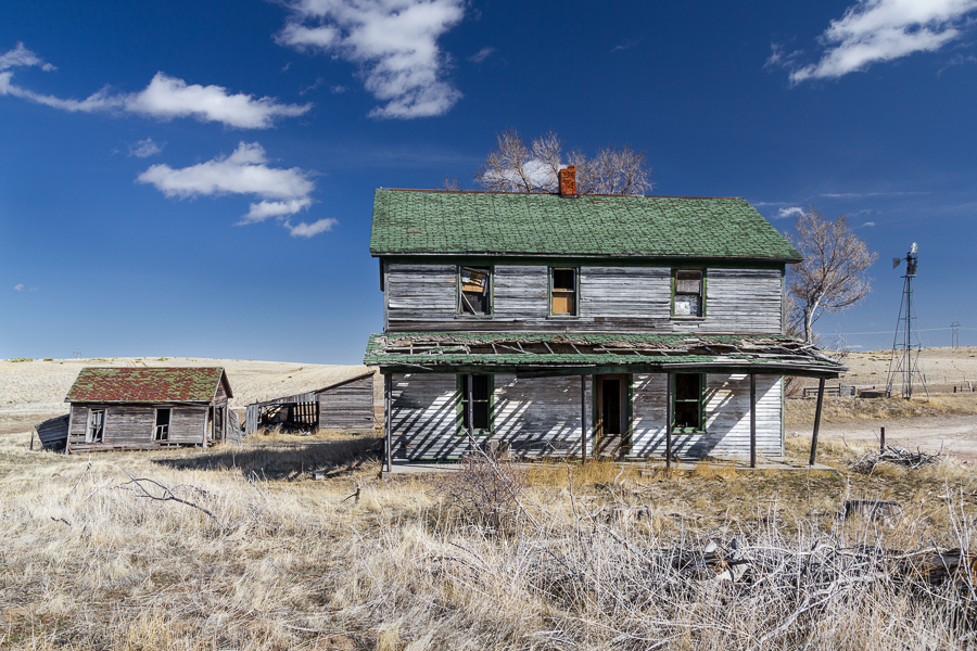 'the distant echo of laughing children', abandoned homestead, Nebraska Sandhills