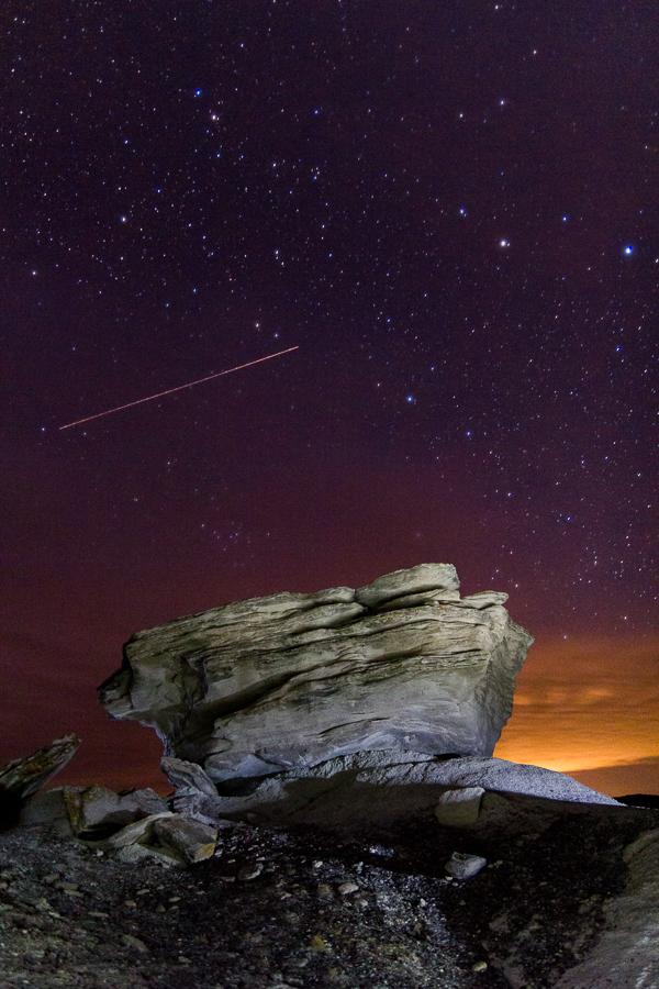 'toadstool nights', Toadstool Geologic Park, Nebraska Sandhills