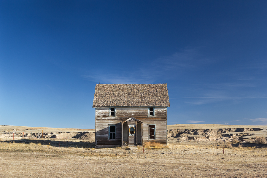 'and now we wait', abandoned stable, Nebraska Sandhills