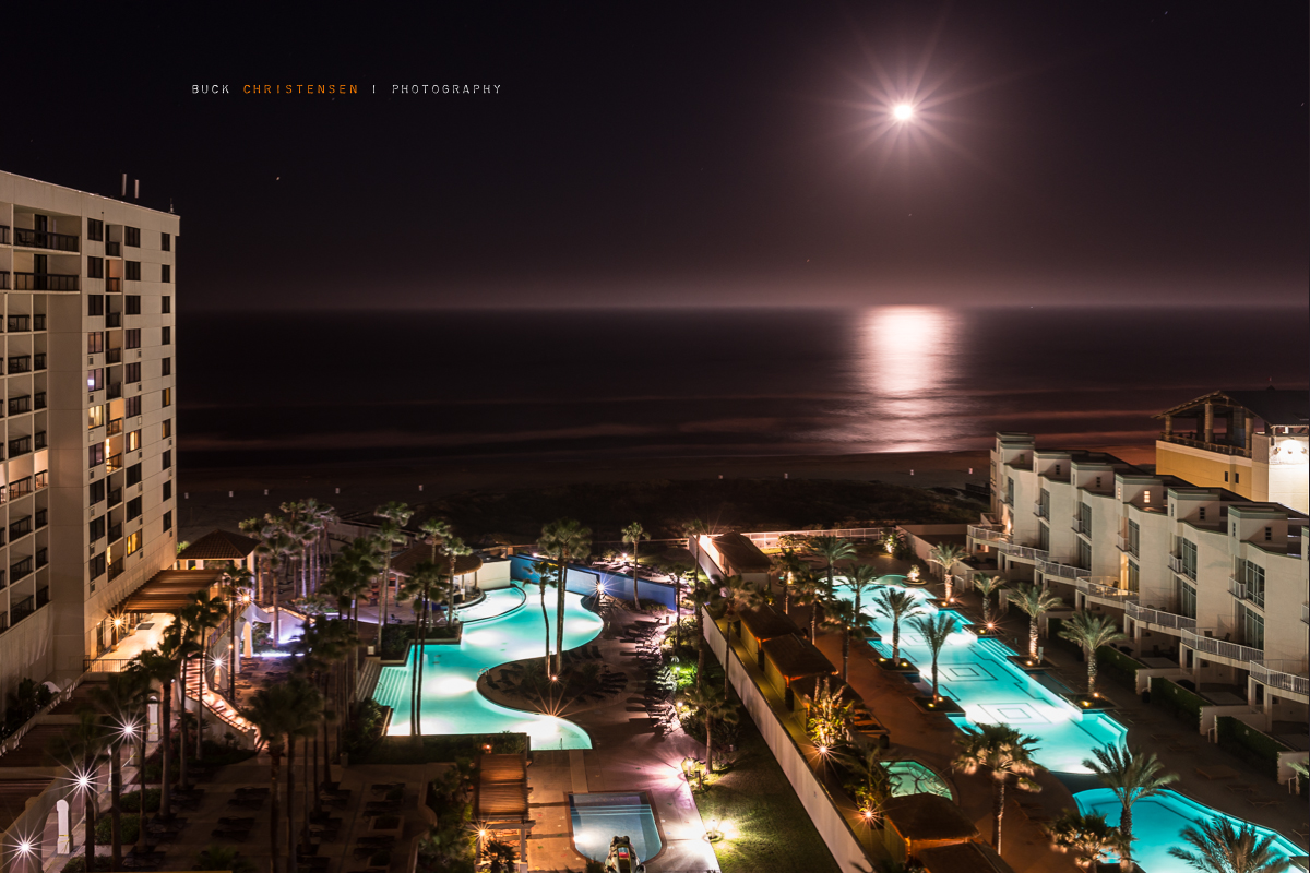 'moonshine', South Padre Island, Texas, night