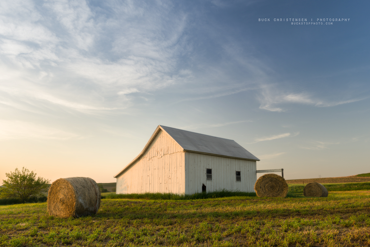 'another nostalgic cowboy song', barn, Treynor, Iowa