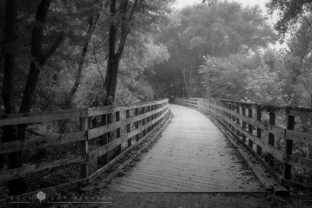 Bridge along the Wabash Trace bike trail, Council Bluffs, Iowa