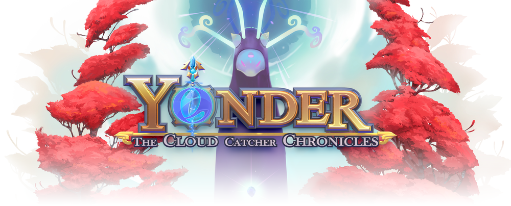 Yonder: The Cloud Catcher Chronicles Video Game Logo