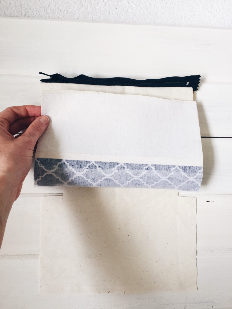Cosmetic bag DIY