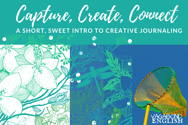 Want to get started? Get a simple, fun and self-paced creative journaling course delivered to your inbox.
