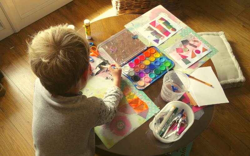 Do you have an inner painter who just wants to stay in pyjamas all day and make something?