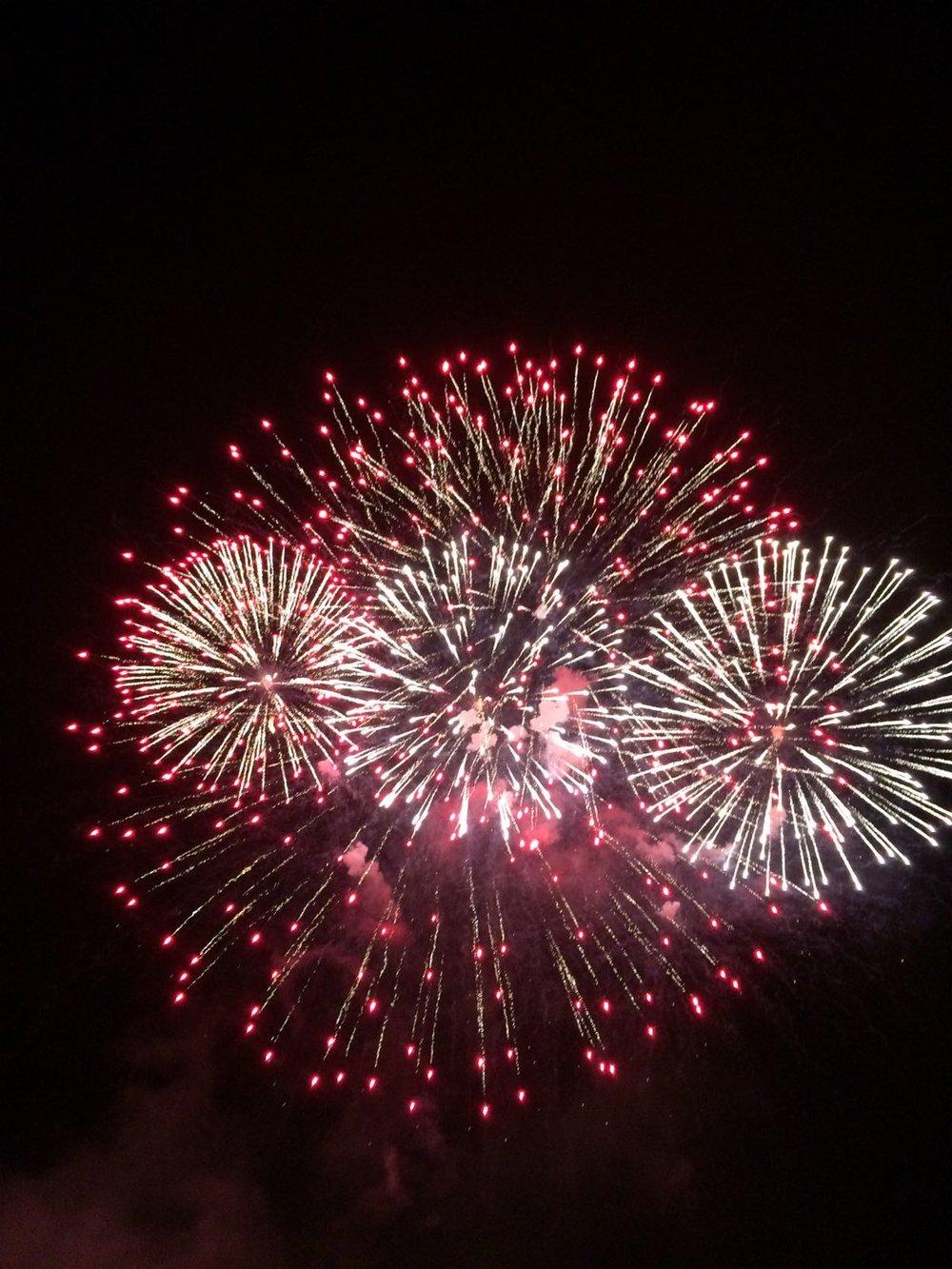 Fireworks Aker Brygge