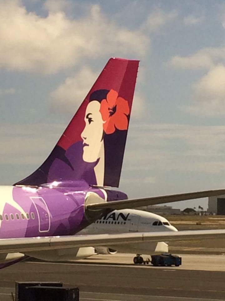 Hawaiian Airlines, flag carrier of Hawaii