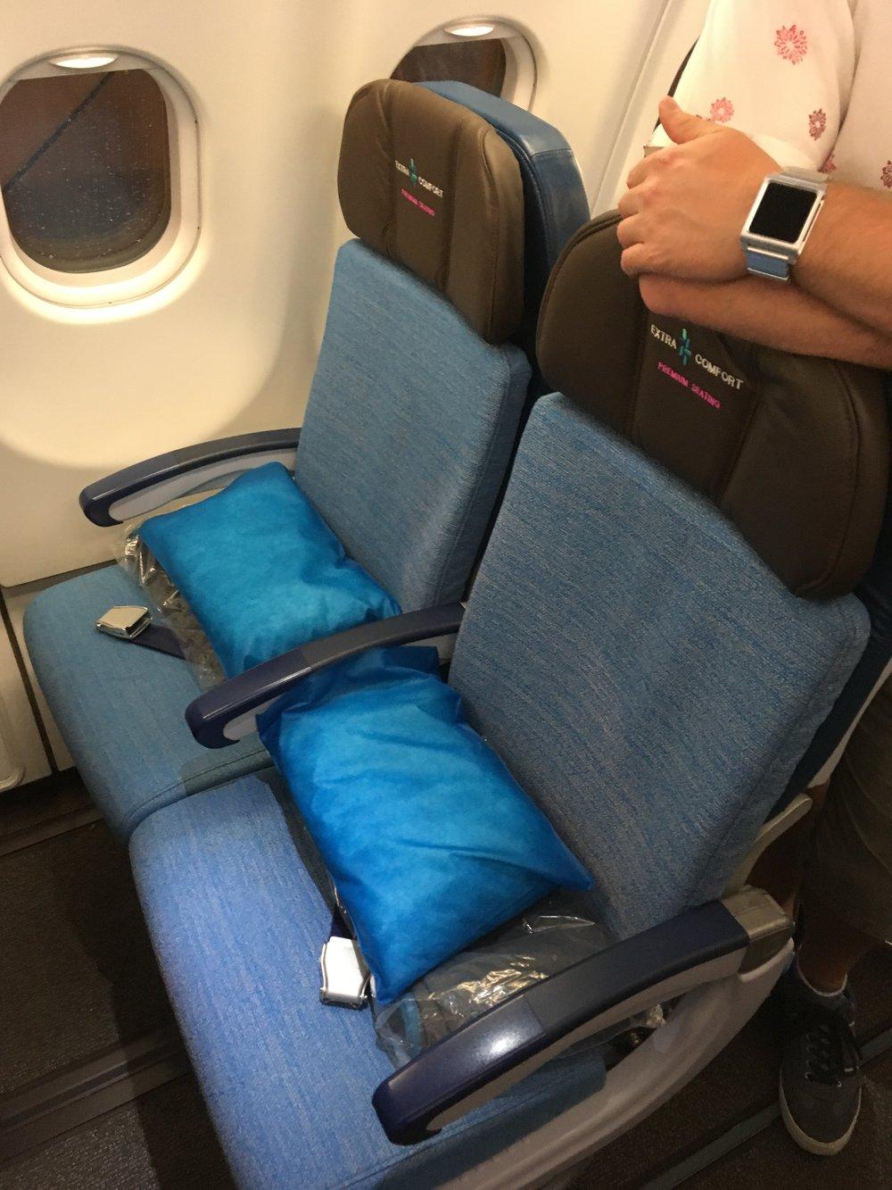Economy Class Hawaiian Airlines