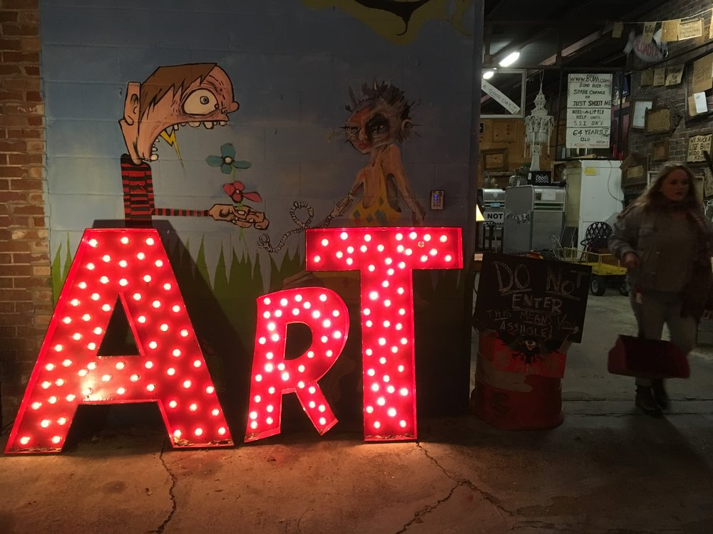 Frenchman Street Art Market