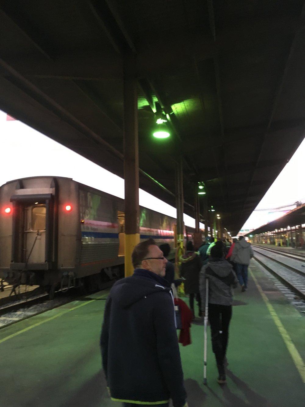Platform to train