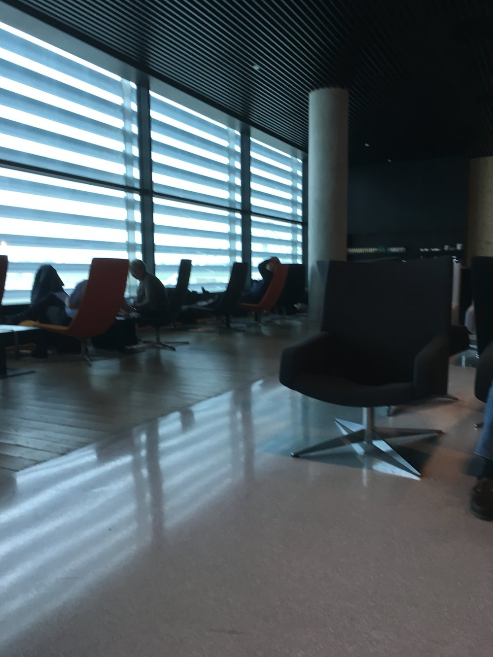ANA Lounge Lisbon
