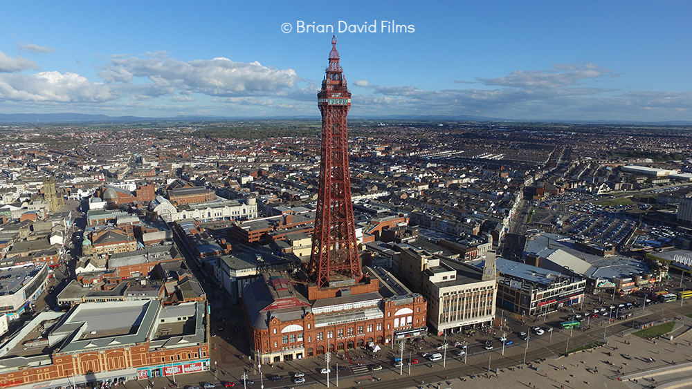 Aerial photography service with Brian David Films