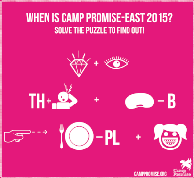 Camp Promise-East dates, 2015