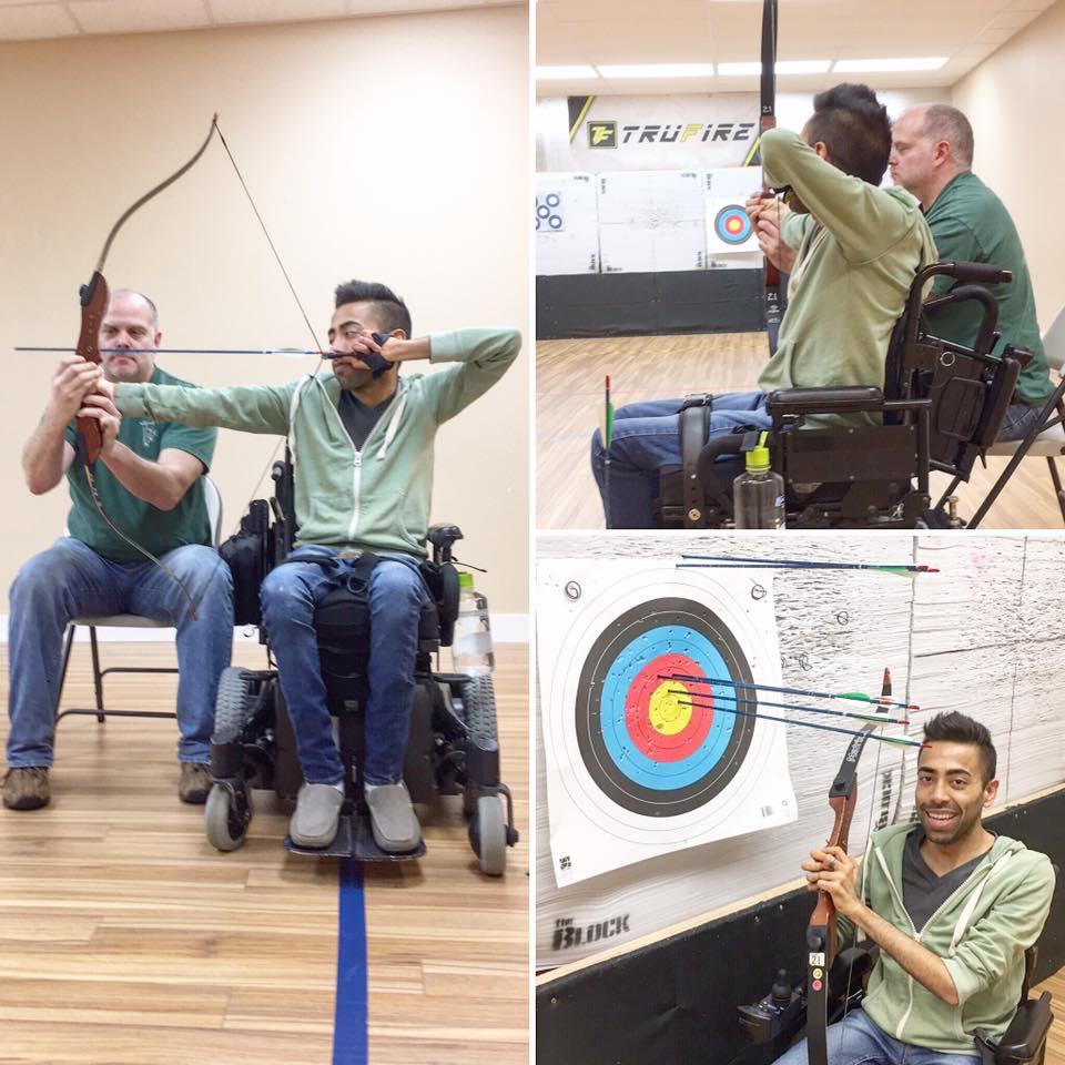 Amin at  Next Step Archery