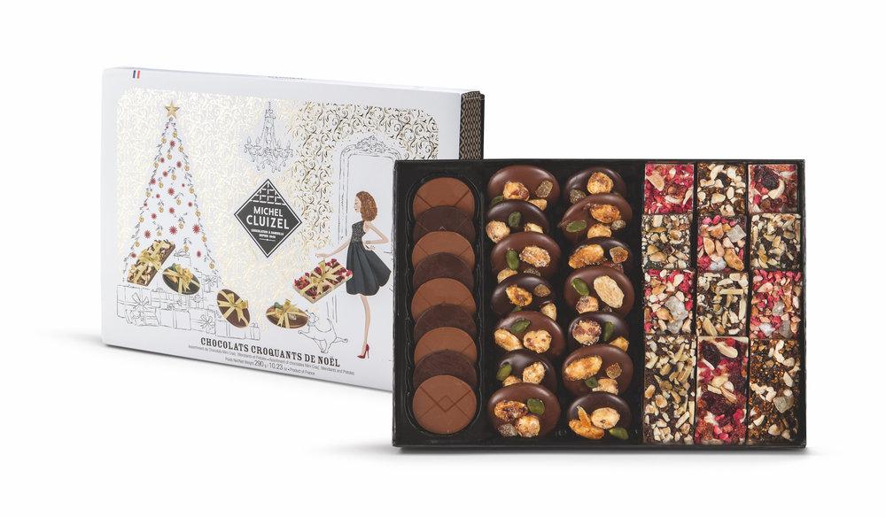 Coffret Chocolats Croquant de Noël : 37,40 €