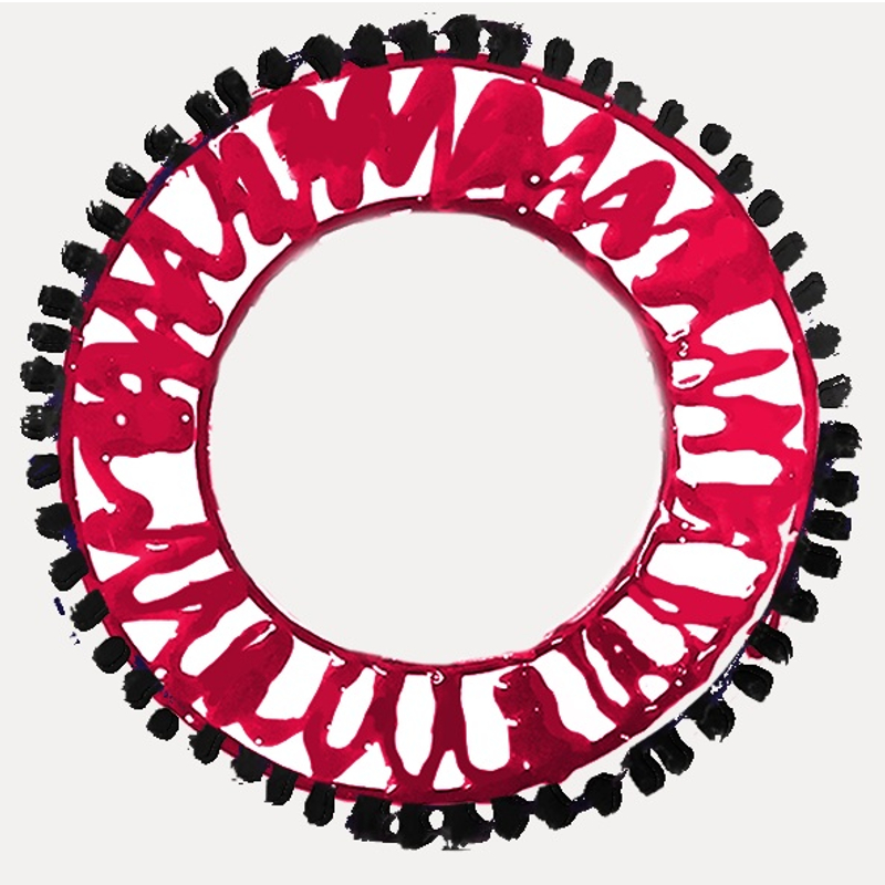Assiette unique Viva le puglie, diamètre 27 cm : 33€