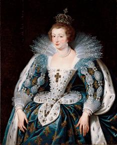 Portrait d'Anne d'Autriche, reine de France, 1622 - 1625
