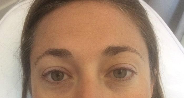 Permanent Eyeliner - Before