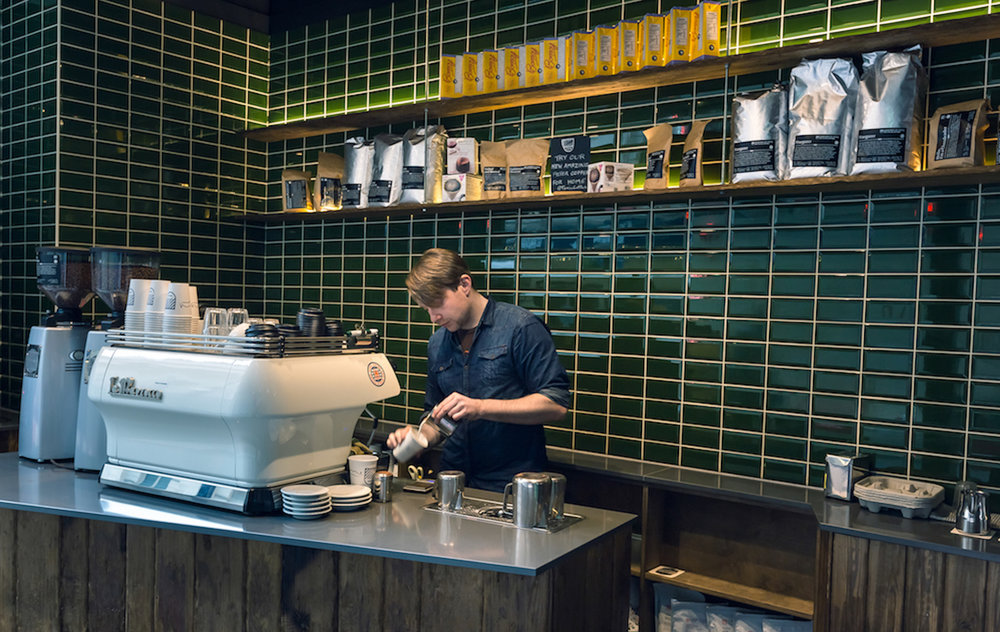 """""""Dedicated to a big variety of proper coffees."""" - TIME OUT"""
