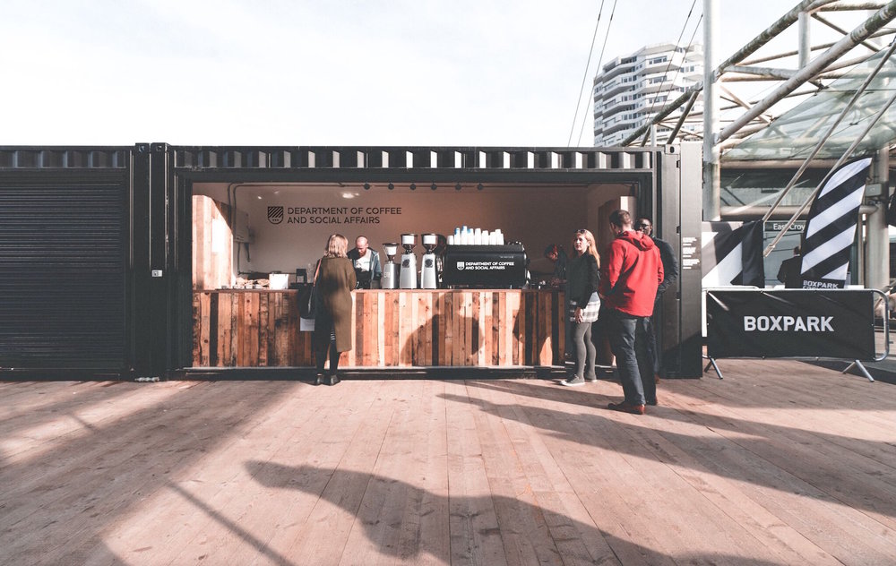 """""""They add real flavour and quality to what will be UK's most exciting new food and drink destination"""" -BOXPARK"""