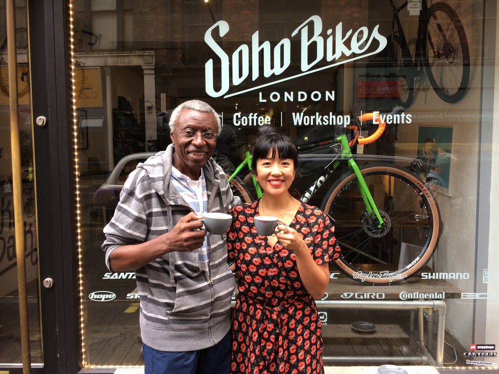 Matti Foncha from Cameroon Boyo with The Girl In The Cafe