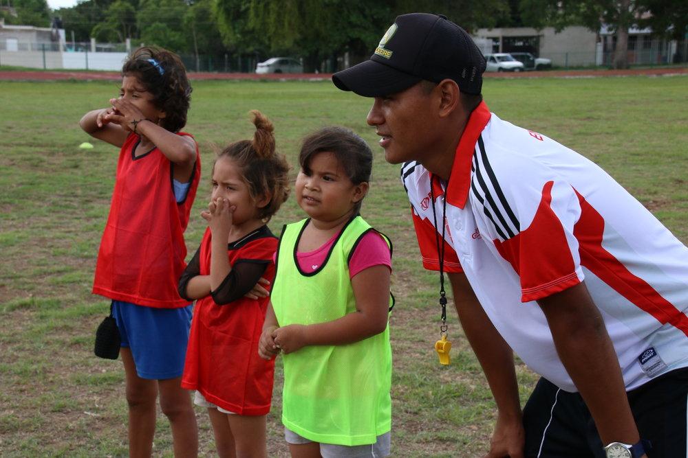 Nuestros entrenadores se enfocan en desarrollar líderes.