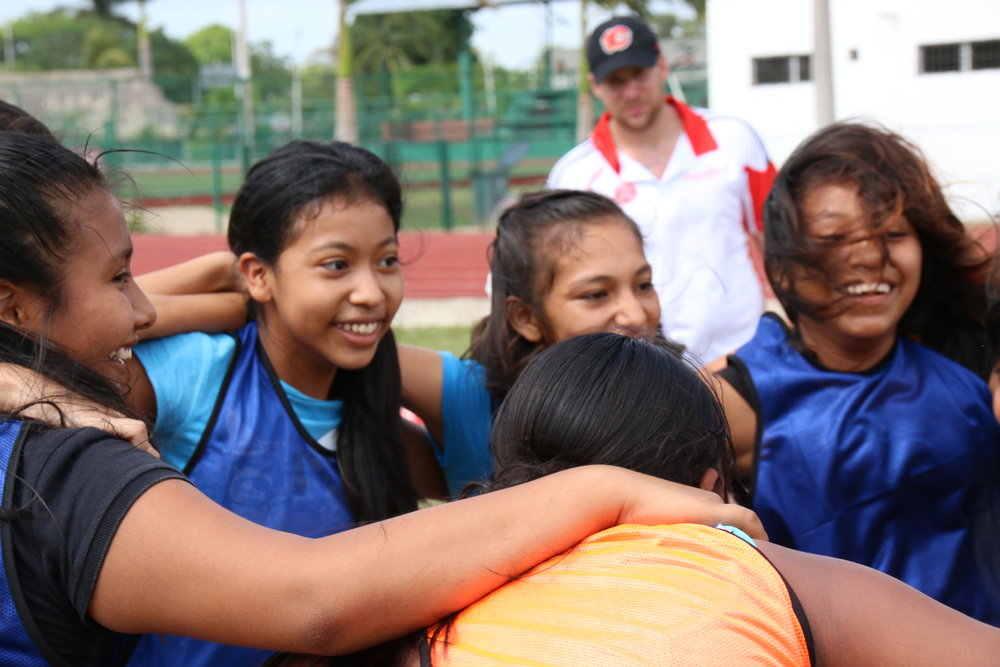 Giving girls the opportunity to play, we give them the opportunity to succeed