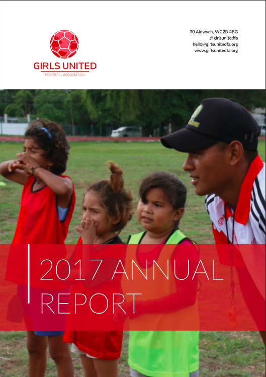 Girls' Football, Girls United FA, Girls United, Annual Report