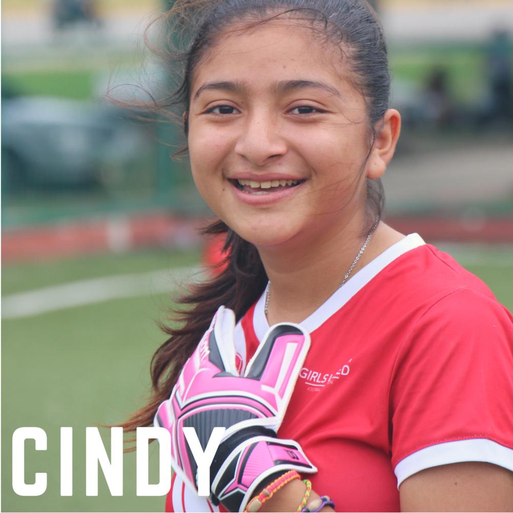 Girls' Football, Girls United FA, Girls United, Cindy
