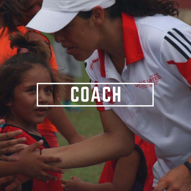 Girls' Football, Girls United FA, Girls United, Coach