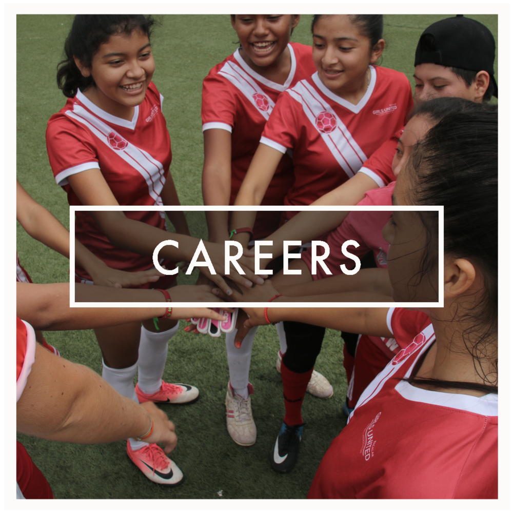 Discover opportunities to work with Girls United's rapidly growing team, in roles based around the World