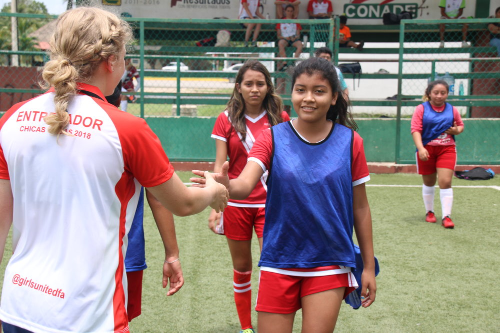 Coaches from around the World complete the coaching programme with Girls United in Mexico