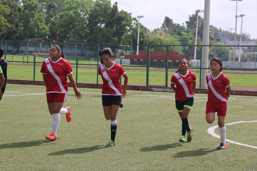 Girls United prides itself on high standards of preparation and presentation