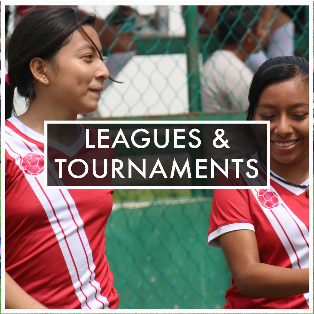 LEAD YOUR TEAM TO VICTORY.   Find details on our local women's and girl's leagues in Mexico as well as our upcoming  Copa Chicas Unidas  Tournament (coming soon..)