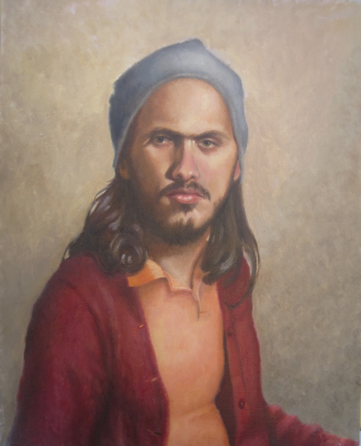 Mr. Winn - 2006, 16x20, Oil on Linen