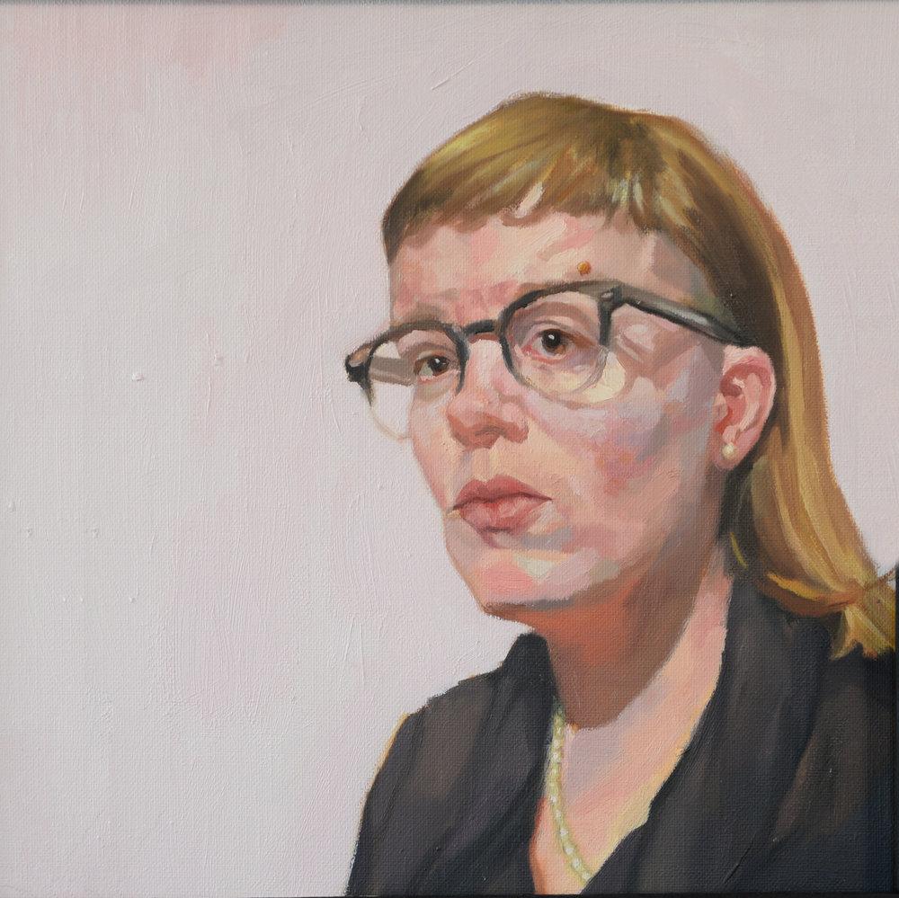 Mother (II) - 12x12 - Oil on Linen - 2017