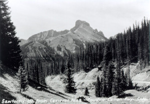 Nokhu Crags was called Sawtooth Mountain in the 1930's - not a bad name overall but I like Nokhu better.