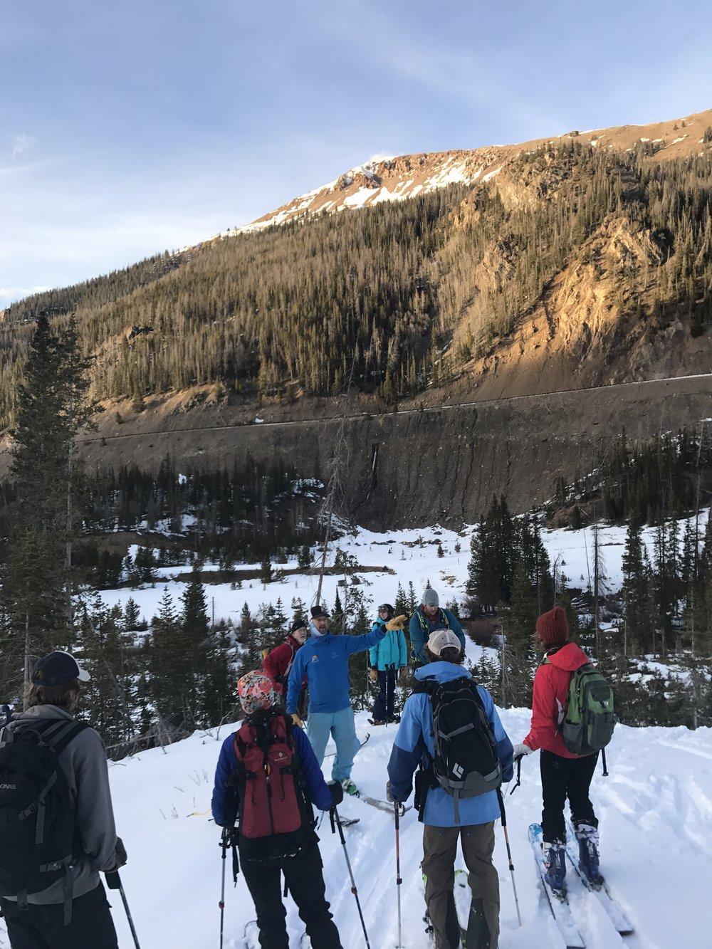 Avalanche Rescue Scenario Debrief Cameron Pass Dec 2017