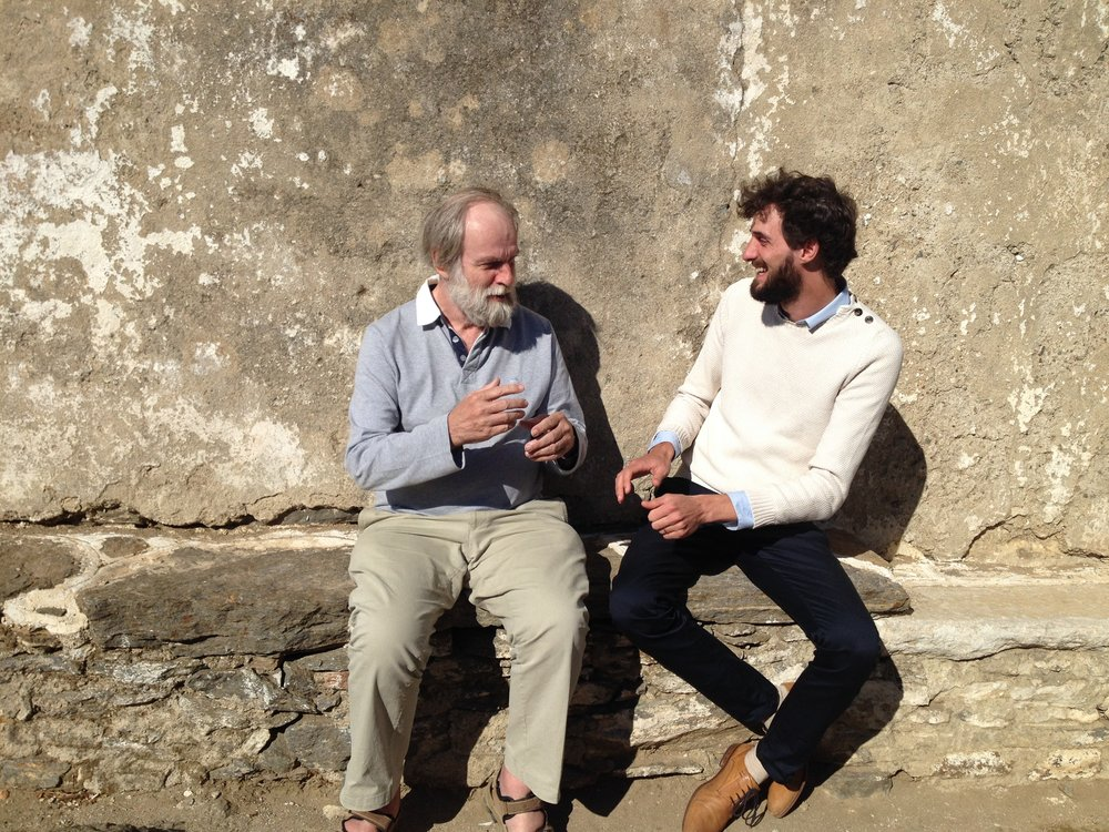 Gerard Bodifee en Pieter Thyssen, de enthousiaste lesgevers van  Het Theoretische Minimum .