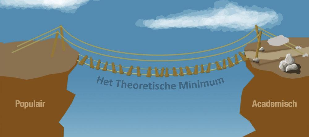 Het Theoretische Minimum wil een brug slaan tussen het populair wetenschappelijke niveau en het zuiver academische.
