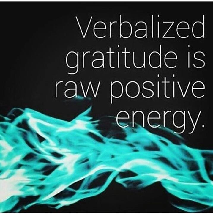 Gratitude positive energy yoga Amsterdam