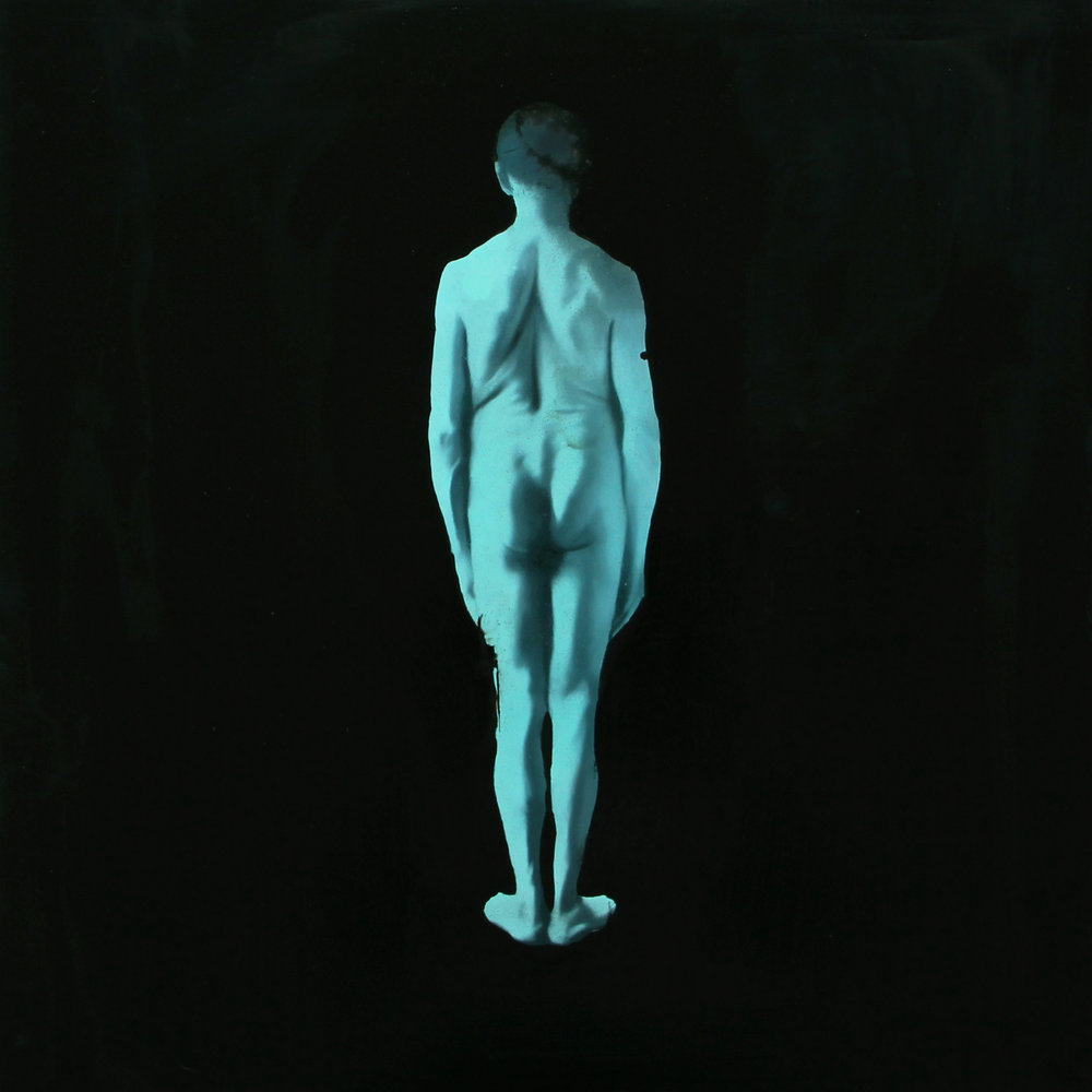 Blue Figure no. 3
