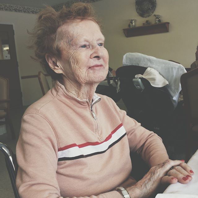 This is my grandma Dot. She is in heaven right now. I miss her. But that's not why she is on here. This woman has taught me some incredible lessons. She's given me so much love, encouragement, and acceptance. So today, I want to share with you what my grandma Dot taught me. You can find the link to the blog in the bio.