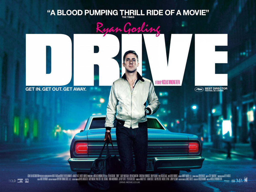 Fig 8. Drive, 2011. Print Ad for Feature Film.