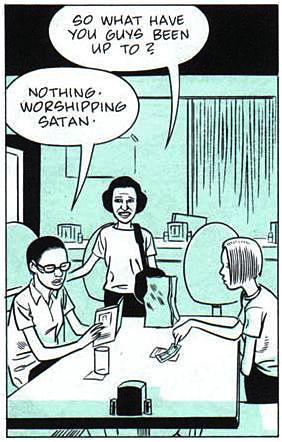 Fig 28. Daniel Clowes, Ghost World, 1997. Comic Strip.