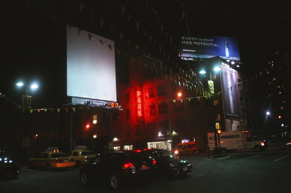 Fig 31. Jamie Brett (Own Work), Billboard, Lower West, NYC, 2012.