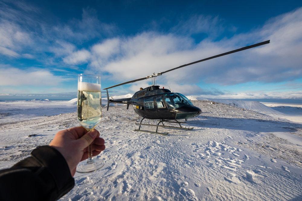 Norðurflug Helicopter Tours - Reykjavik Summit