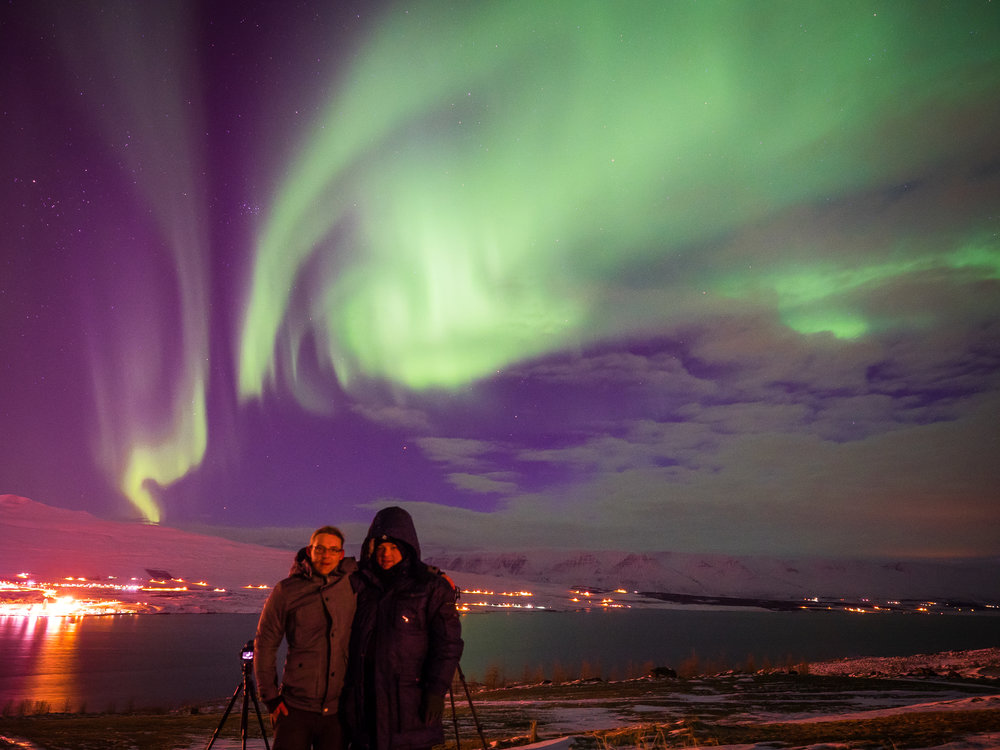 Northern Lights in Akureyri