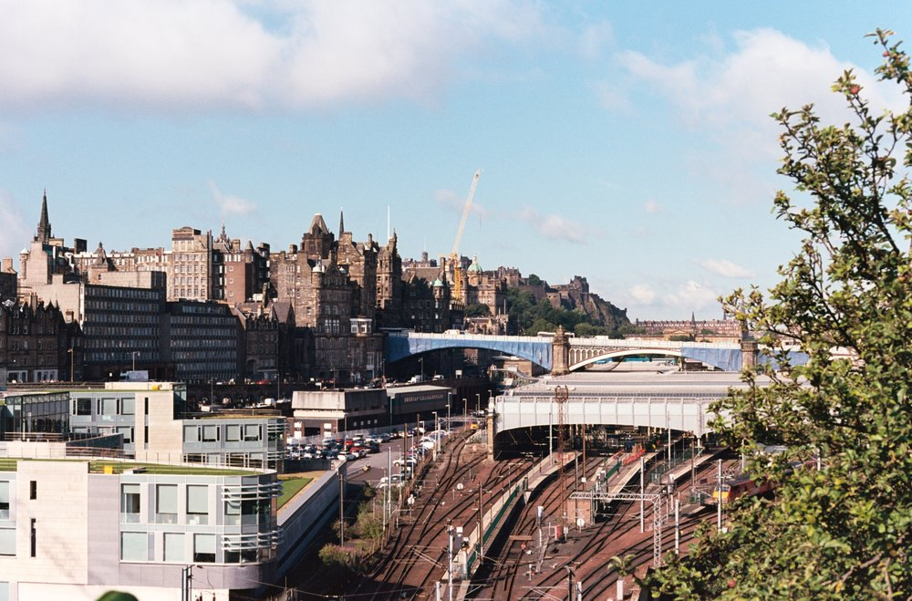 Edinburgh - Waverley Station - 35mm Canon AE-1 - Kodak Ektar 100